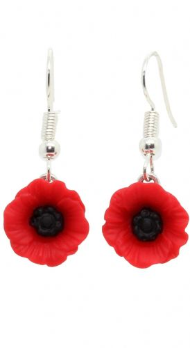 Bluebubble POPPY DAYS Poppy Dangle Earrings With FREE Gift Box